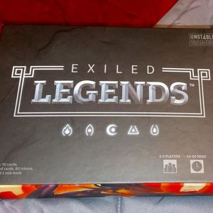 Exiled legends game